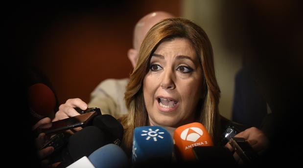 Díaz hizo las declaraciones en Sevilla antes de un desayuno informativo del presidente del Parlamento
