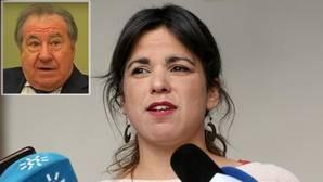 Teresa Rodríguez y el empresario enjuiciado