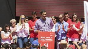 Pedro Sánchez llama en Cártama a acabar con «el PSOE de los notables»