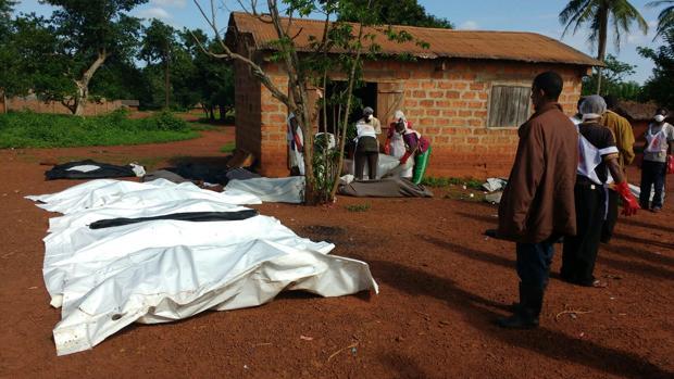 Víctimas del ataque a la mezquita