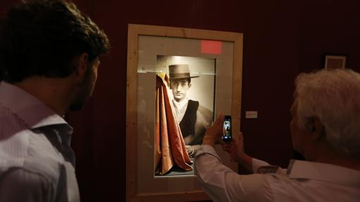 Retrato de Manolete expuesto en la Sala Orive