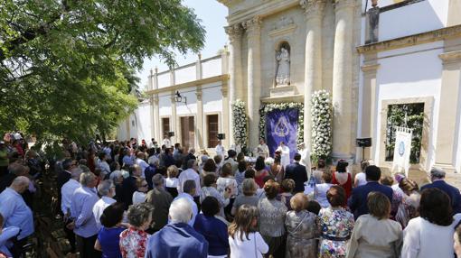 Celebración del oficio religioso del año pasado