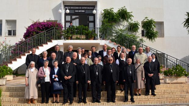 Los Obispos del Sur, en la mañana de este miércoles
