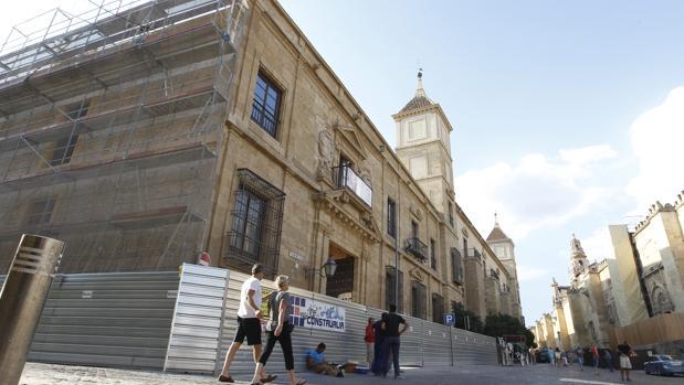 Obras en el Palacio Episcopal