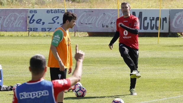 El entrenador del Córdoba CF, Luis Carrión