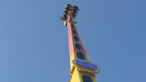 Gigant es una de las atracciones preferidas para soltar adrenalina