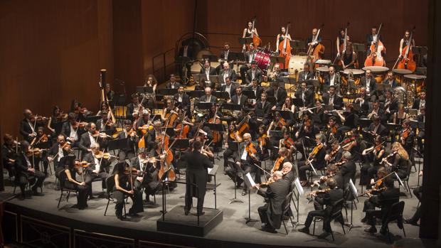 La Orquesta de Córdoba en una actuación