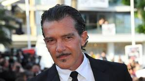 El actor y director Antonio Banderas, en el festival de Cannes