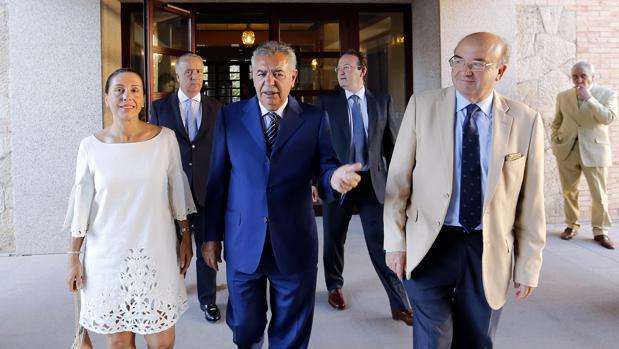 El presidente de Prasa, José Romero, en la clausura de la Cátedra Prasa de Empresa Familiar