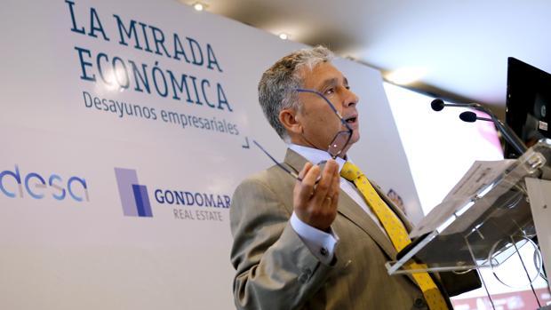 José Antonio Pérez, hoy durante su intervención en «La Mirada Económica» de ABC Córdoba