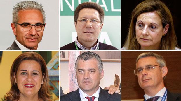 Miguel Ángel Vázquez, Rodrigo Sánchez Haro, Marina Álvarez, Sonia Gaya, Javier Carnero y Juan Carlos Blanco