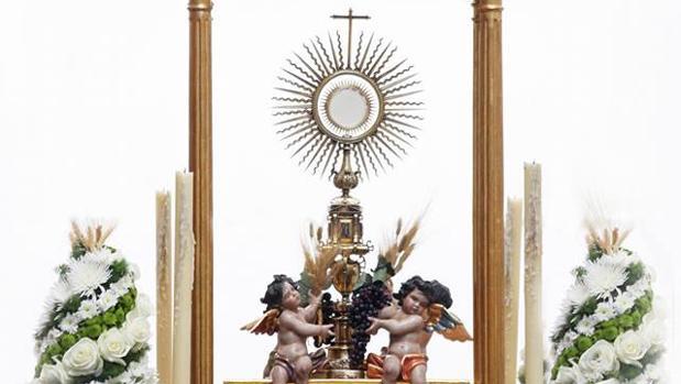 Corpus de la parroquia de la Trinidad