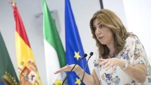 Susana Díaz, de visita en el municipio malagueño de Vélez-Málaga