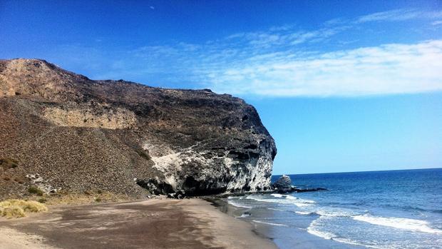 Cala Barronal, una de la playas protegidas