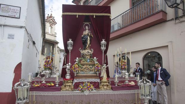 Uno de los altares de 2016