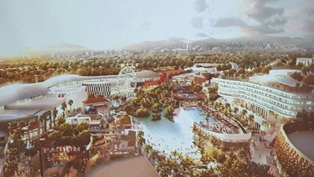 Boceto del nuevo centro comercial de Torremolinos / ABC