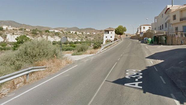 Carretera en la que se ha producido el accidente mortal
