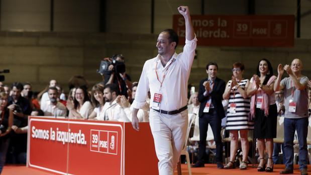 Gómez de Celis, en el 39 Congreso Federal del PSOE