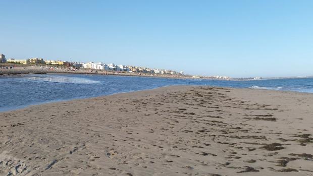 El hombre fallecido fue rescatado y trasladado al espigón de Punta del Moral
