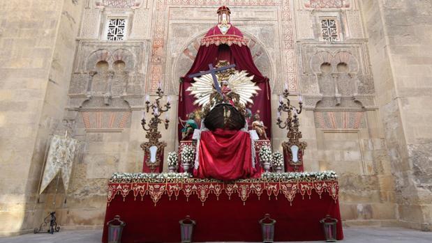 Altar de la hermandad del Remedio de Ánimas