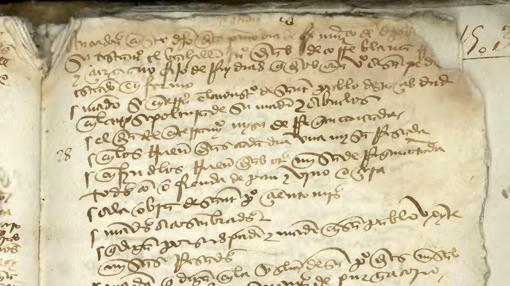 Testamento del bisabuelo de Cervantes