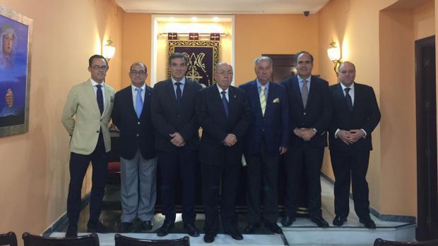Los presidentes, durante su encuentro en Cádiz