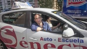 David Cruz, dueño de la autoescuela Séneca
