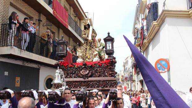 Paso de Jesús Nazareno, en el Viernes Santo de 2017