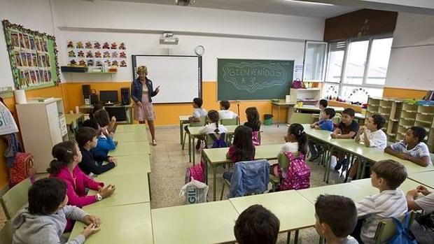 Alumnos de tercero de la ESO en el aula
