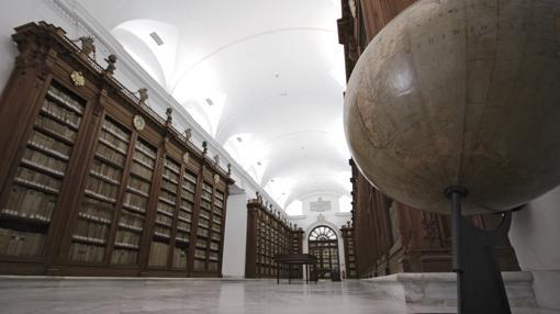 Biblioteca colombina, en la Catedral de Sevilla