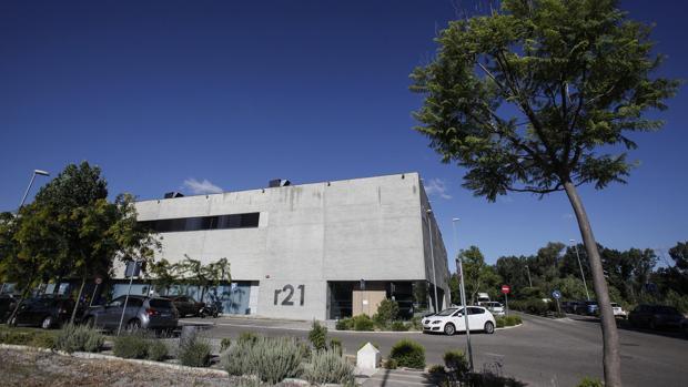 Edificio del parque científico-tecnológico Rabanales 21 de Córdoba