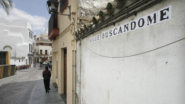 Tramo final de la calle Cardenal González