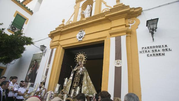 Procesión Carmen de Puerta Nueva