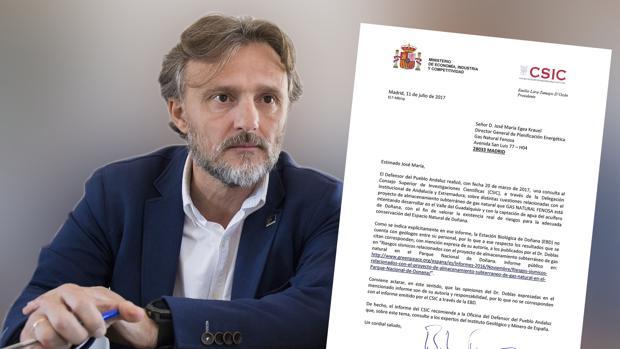 José Fiscal, consejero de Medio Ambiente de la Junta de Andalucía