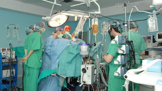Quirófano del Hospital Reina Sofía