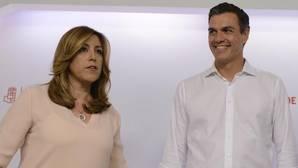 Susana Díaz y Pedro Sánchez se reencontrarán semanas después de las primarias socialistas