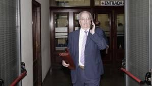 Antonio Fernández en los juzgados