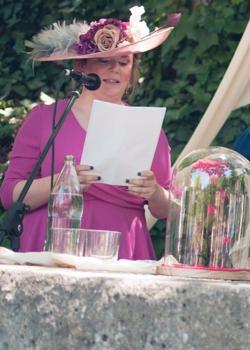 La alcaldesa de Ronda, en la boda