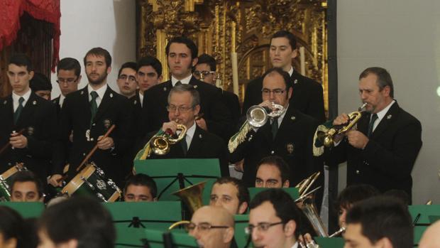 La Banda de la Esperanza, durante un concierto