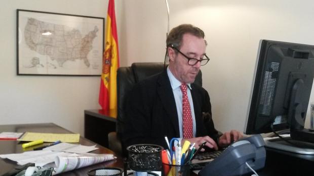Enrique Sardá, cónsul de España en Washington