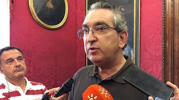 El jefe de la Policía Local de Granada, José Antonio Moreno. / ABC