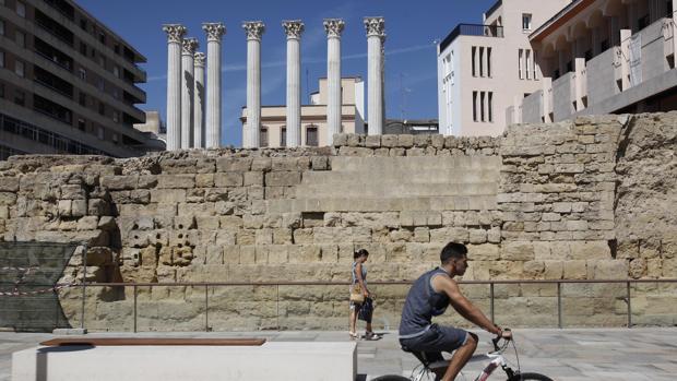 El Templo Romano de Córdoba tras la restauración