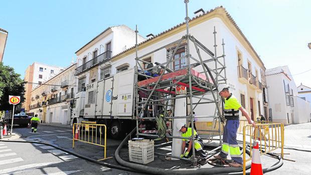 Obras de mantenimiento realizadas por el Consistorio en Córdoba