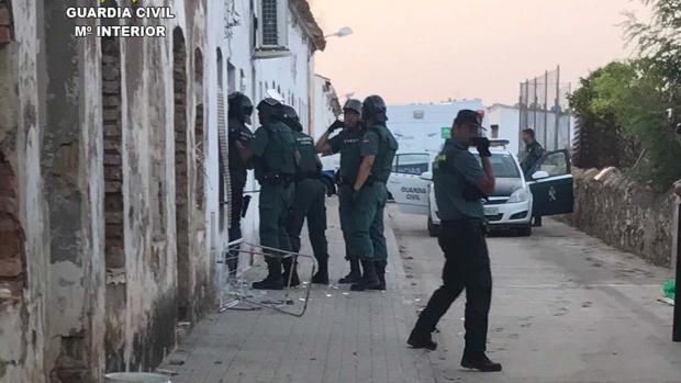 La Guardia Civil trató de negociar con el detenido pero este no mostró signos de colaboración