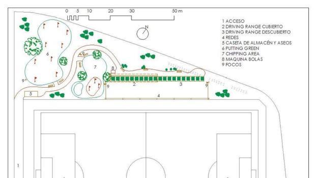 Proyecto del campo de golf del Fontanar
