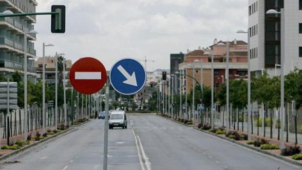 Carretera Santa María de Trassierra