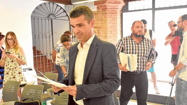 José Bernal, el alcalde de Marbella con los votos de IU y los independientes