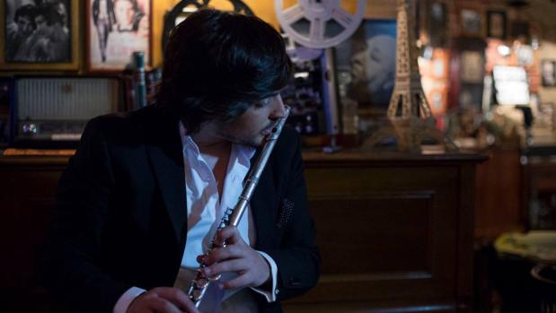 Sergio de Lope, flautista flamenco