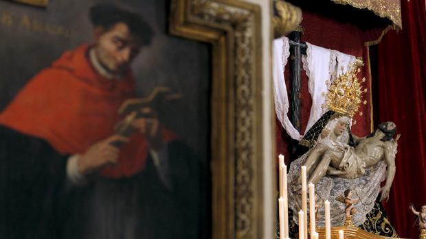 La Virgen de las Angustias, en San Agustín