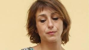 Juana Rivas durante la rueda de prensa del pasado mes de julio